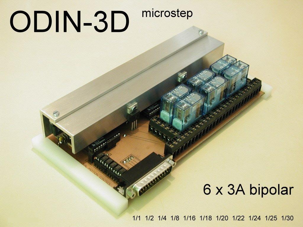 Odin-3D Mikroschritt Karte