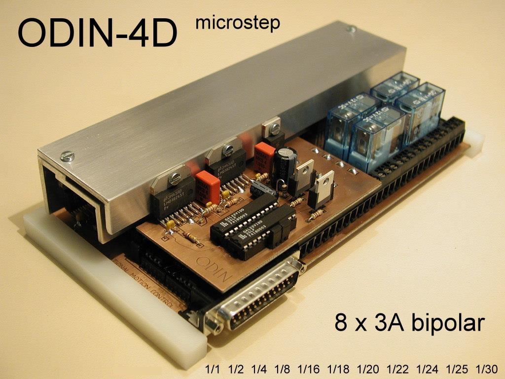 Odin-4D Microstepper Board